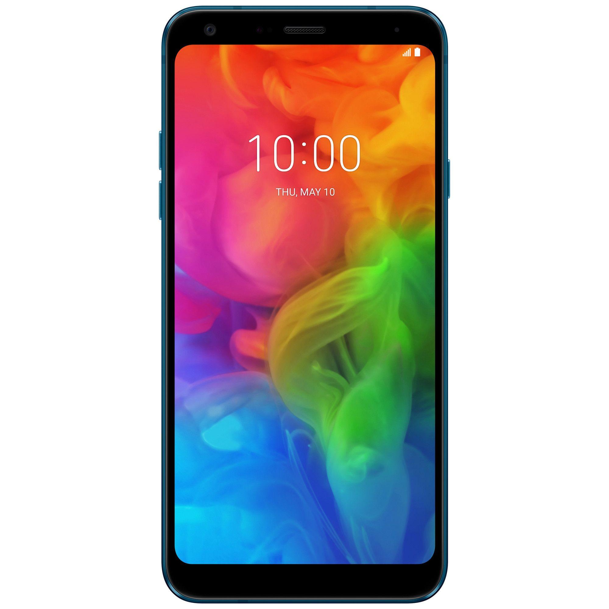 Telefon mobil Telefon mobil LG Q7, Single SIM, 32GB, 3GB RAM, Blue
