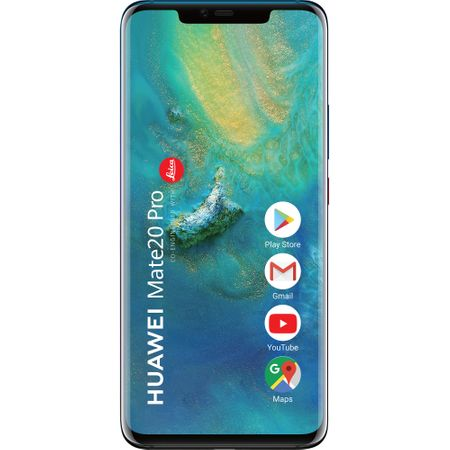Telefon mobil Huawei Mate 20 Pro, Single SIM, 128GB, 6GB RAM, 4G, Twilight