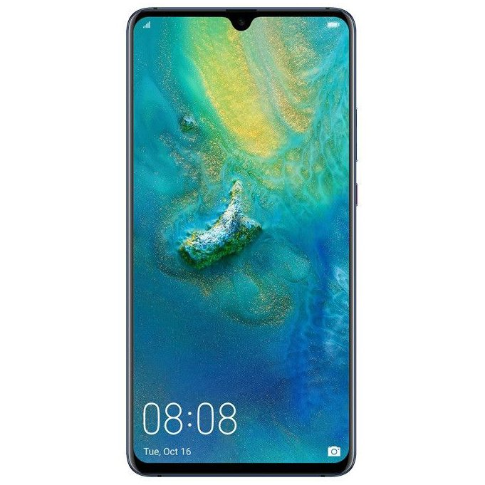 Telefon mobil Huawei Mate 20 X, 128GB, 6GB RAM, Dual SiM, 4G, Midnight Blue