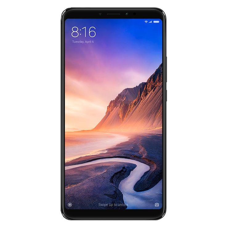 Telefon mobil Xiaomi Mi MAX 3, Dual SIM, 64GB, 4G, Black