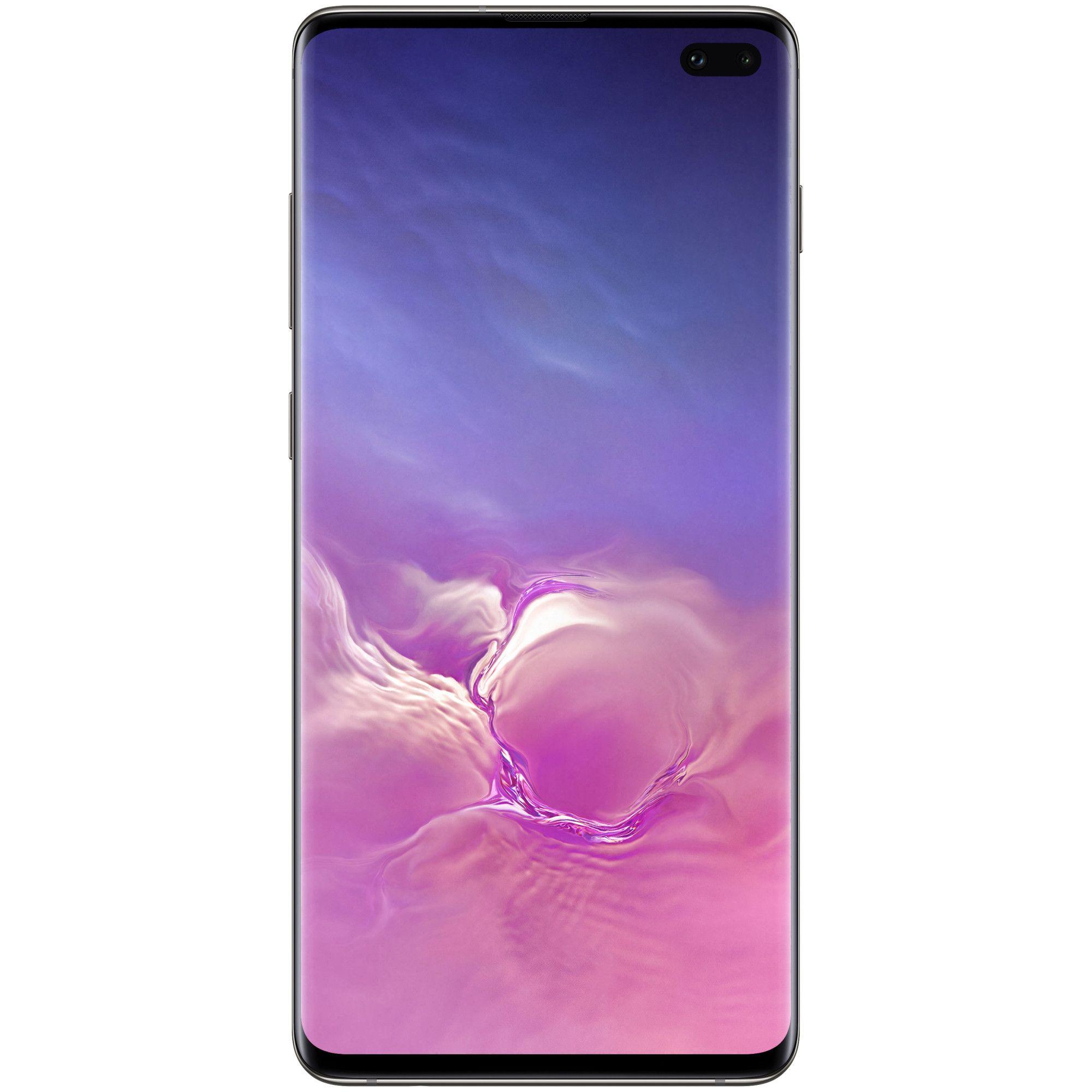 Telefon mobil Samsung Galaxy S10 Plus, G975, Dual SIM, 128GB, 8GB RAM, 4G, Prism Black