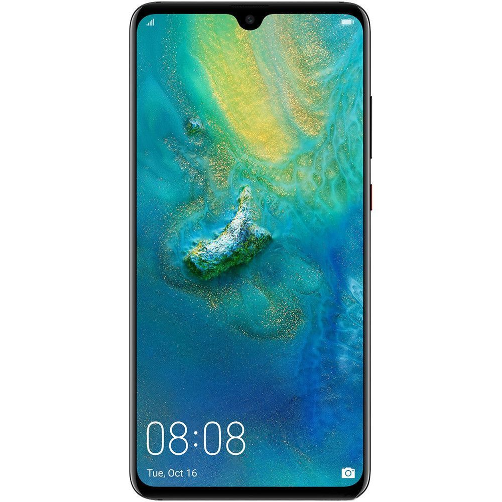 Telefon mobil Huawei Mate 20, Single SIM, 128GB, 4GB RAM, 4G, Black