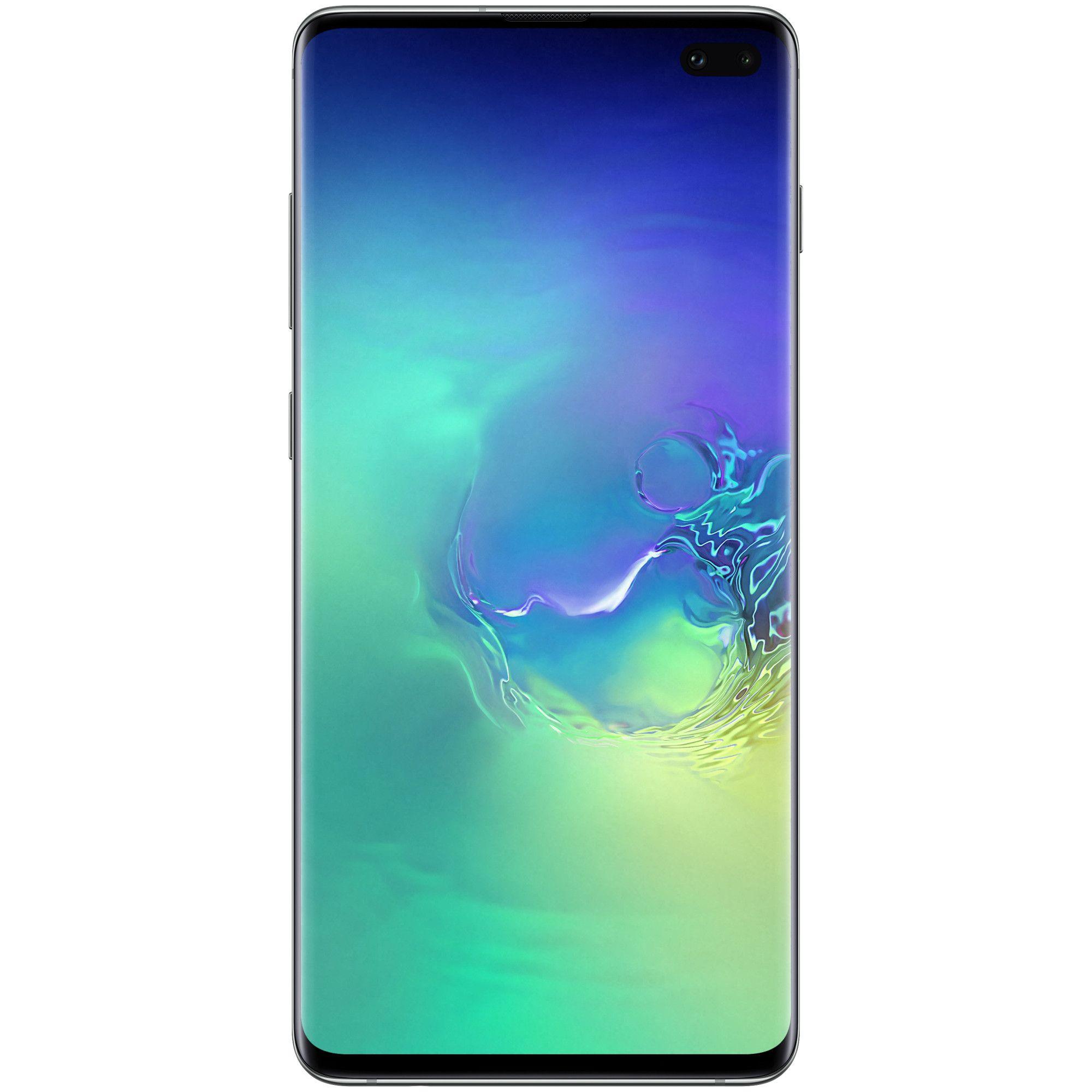Telefon mobil Samsung Galaxy S10 Plus, G975, Dual SIM, 128GB, 8GB RAM, 4G, Prism Green