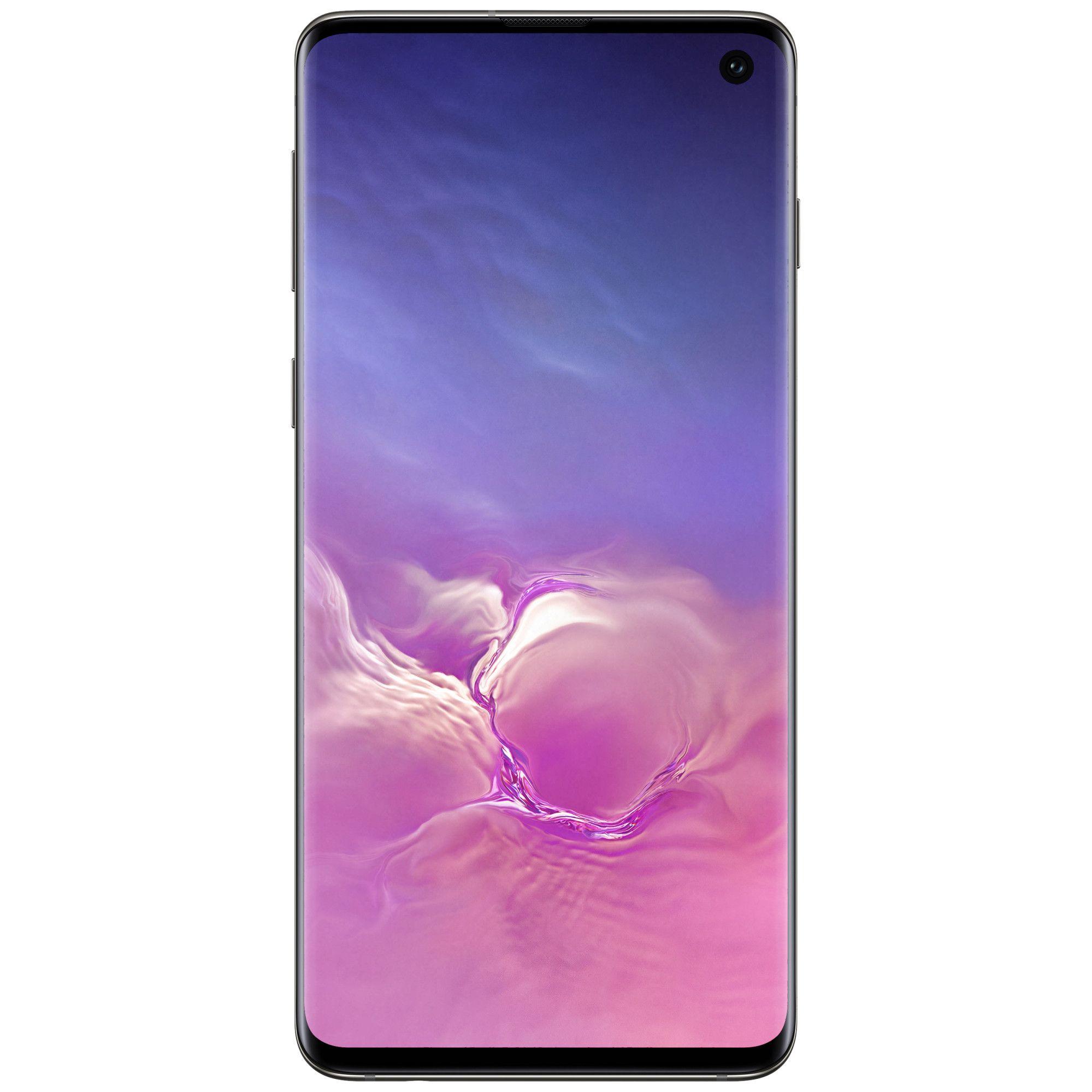 Telefon mobil Samsung Galaxy S10, G973, Dual SIM, 512GB, 8GB RAM, 4G, Prism Black