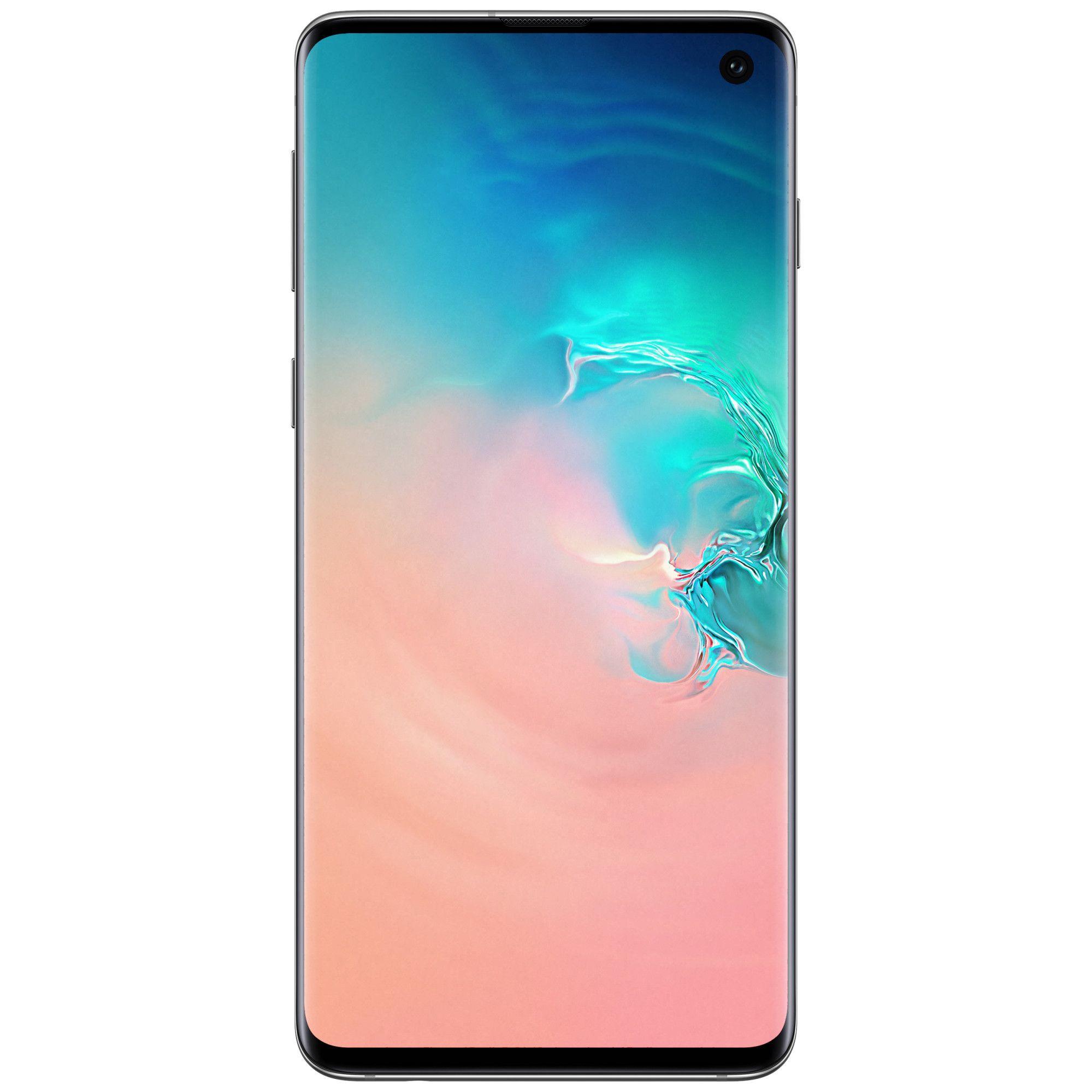 Telefon mobil Samsung Galaxy S10, G973, Dual SIM, 128GB, 8GB RAM, 4G, Prism White
