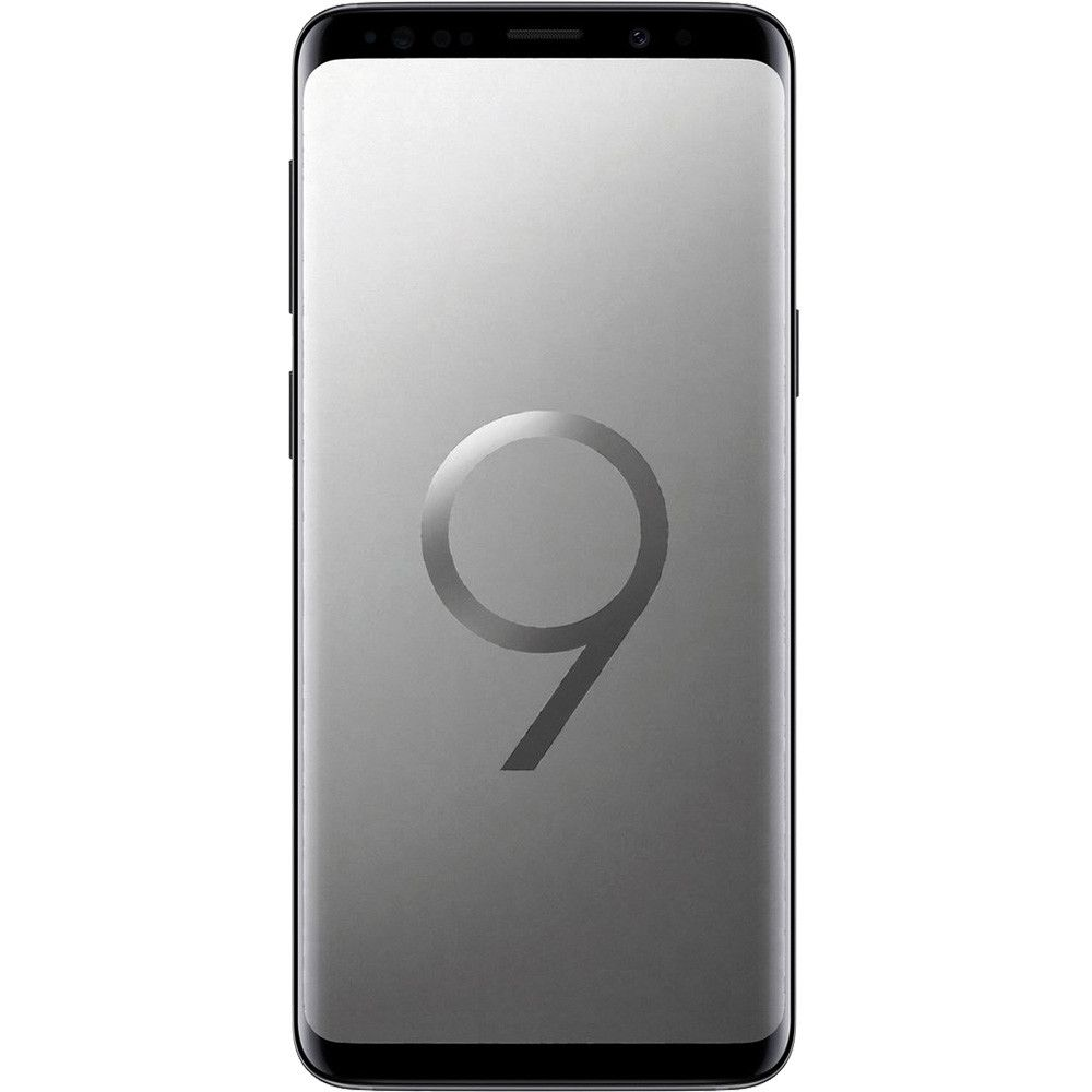 Telefon mobil Samsung Galaxy S9, G960, Single SIM, 256GB, 4GB RAM, 4G, Titanium Gray
