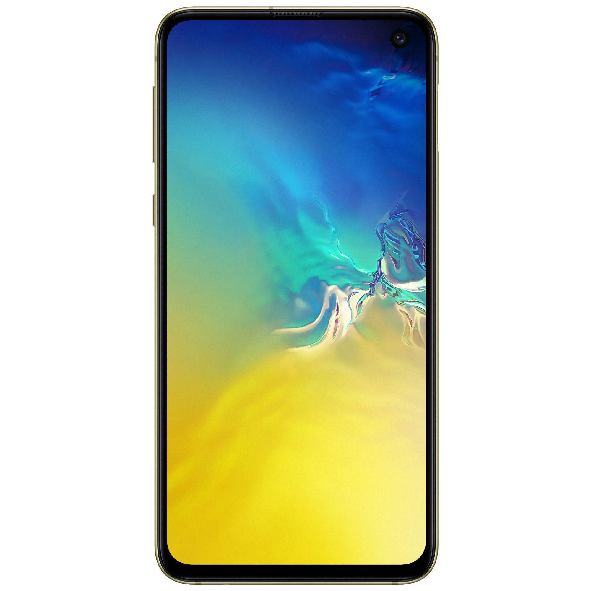 Telefon mobil Samsung Galaxy S10e, Dual SIM, 128GB, 6GB RAM, 4G, Canary Yellow