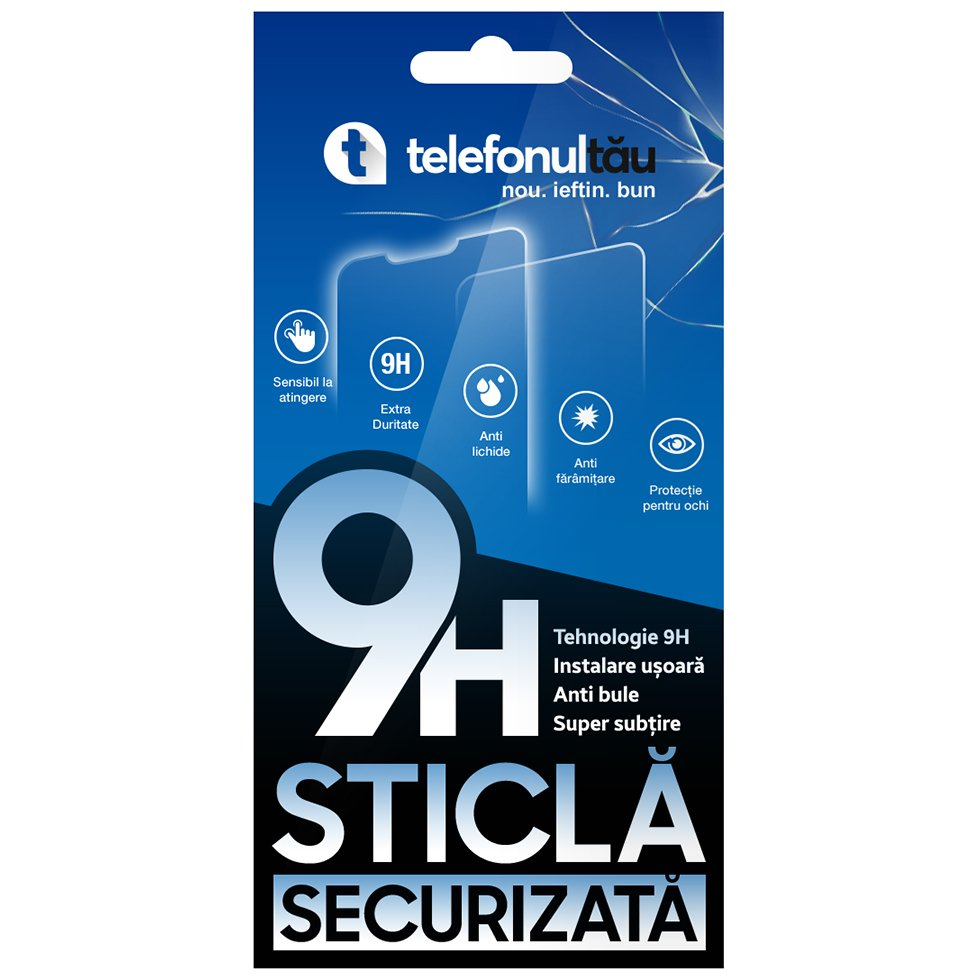 Folie Protectie Huawei Honor 20 Pro/ Honor 20/ Nova 5T, Sticla Securizata 9H, Clear