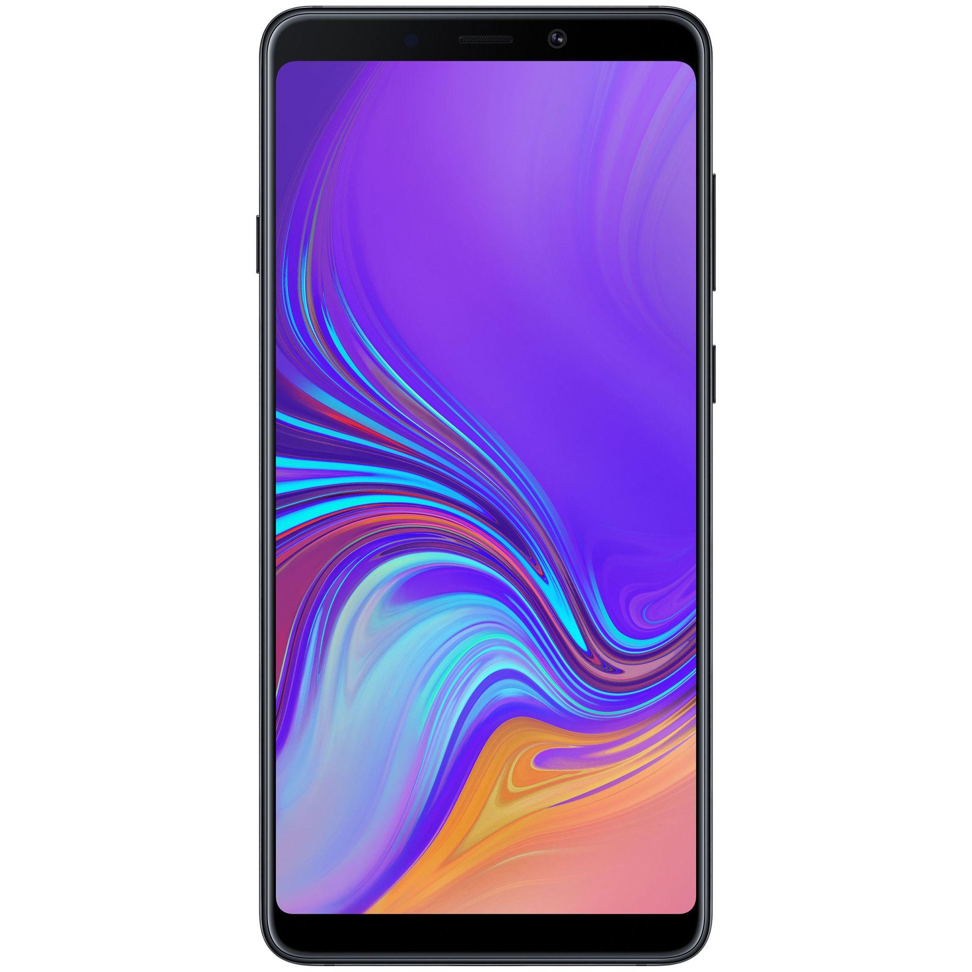 Telefon mobil Samsung Galaxy A9 (2018), Dual SIM, 128GB, 6GB RAM, Caviar Black