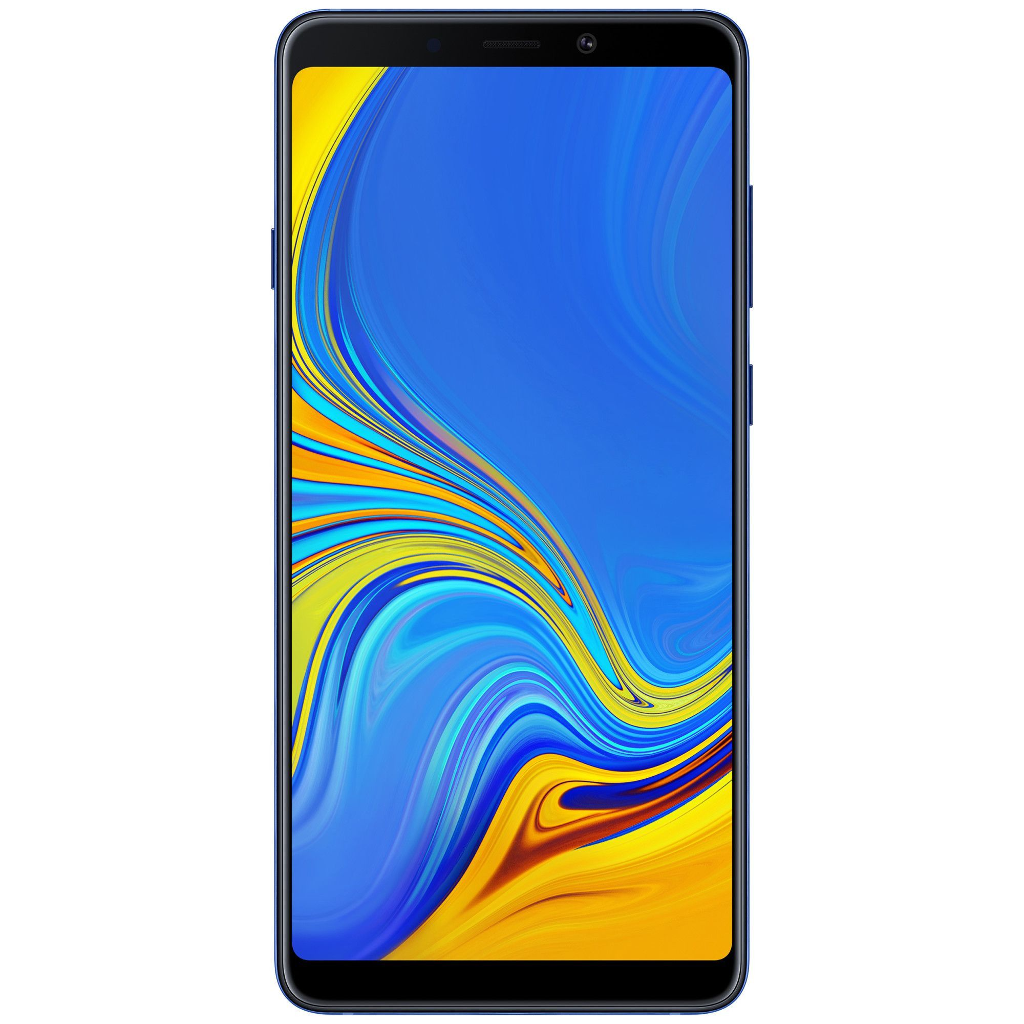 Telefon mobil Samsung Galaxy A9 (2018), Single Sim, 128GB, 6GB RAM, Lemonade Blue