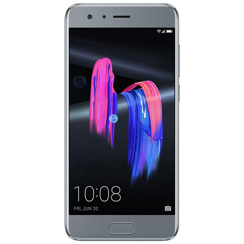 Telefon mobil Honor 9, Dual SIM, 128GB, 4GB RAM, Glacier Grey