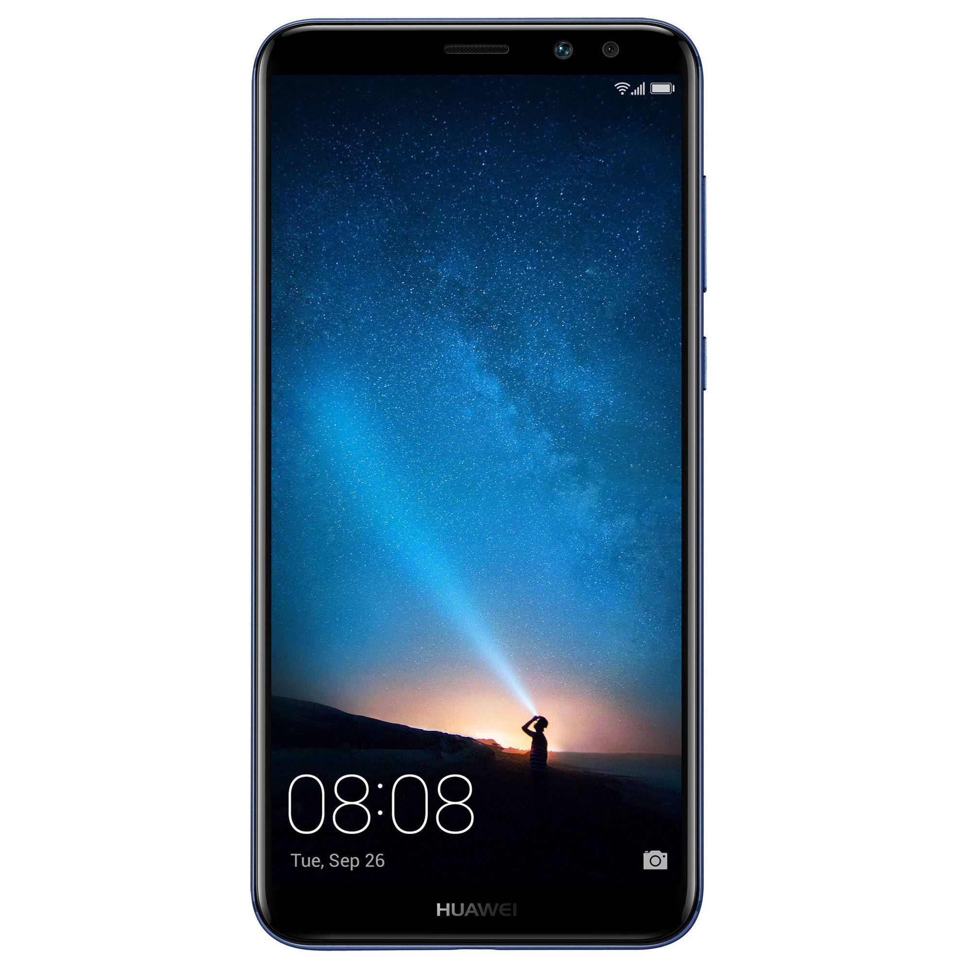 Telefon mobil Huawei Mate 10 lite, Single SIM, 64GB, 4GB RAM, Aurora Blue