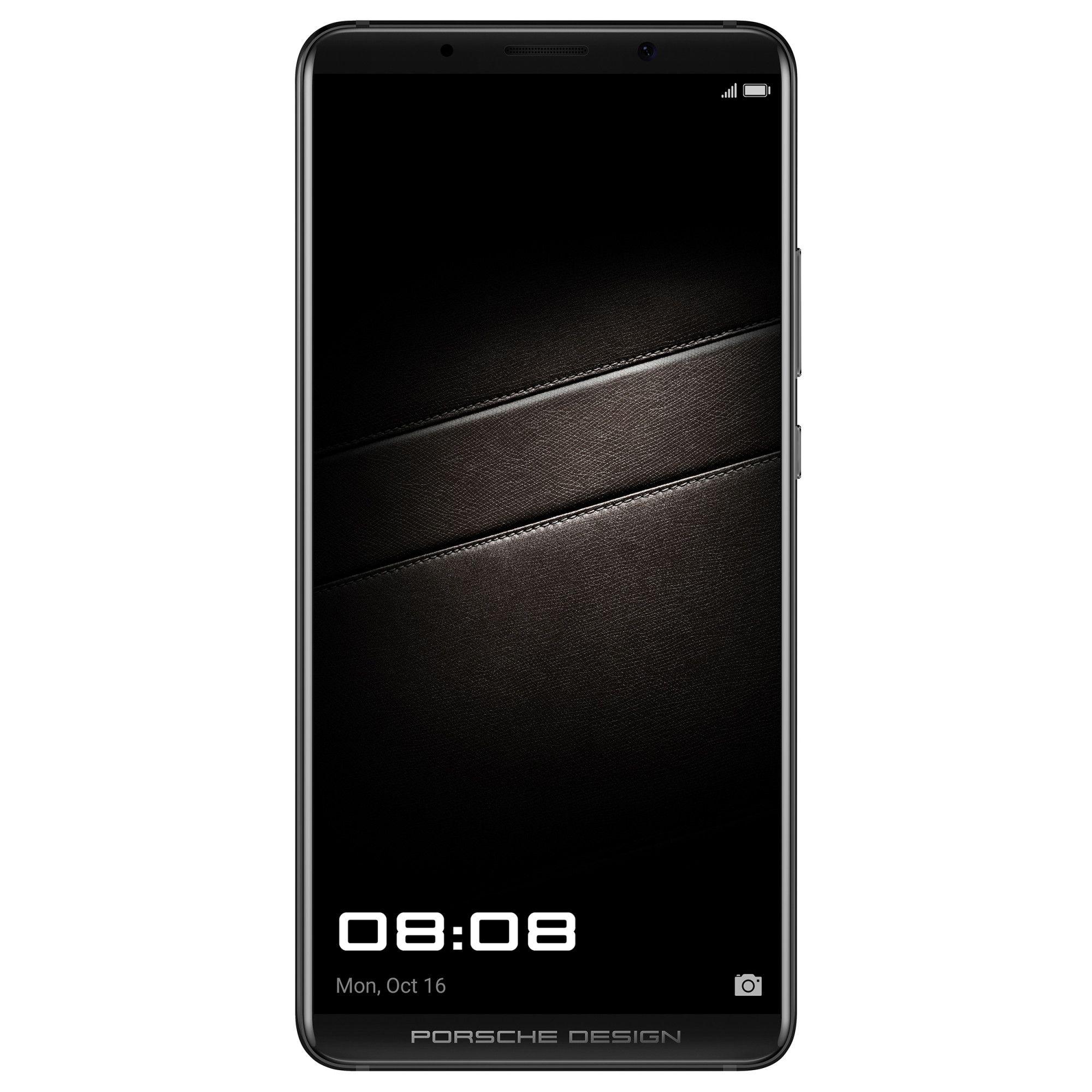 Telefon mobil Huawei Mate 10 Porsche Design, Dual SIM, 256GB, 6GB RAM, 4G, Diamond Black