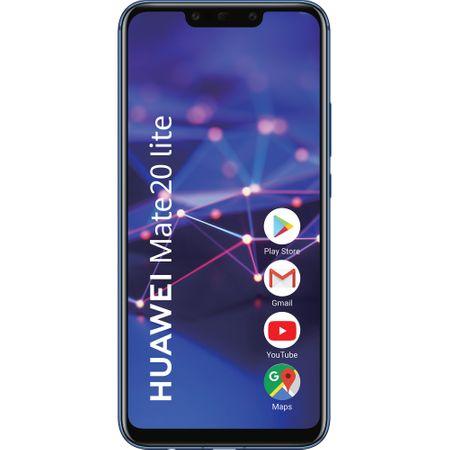 Telefon mobil Huawei Mate 20 Lite, Dual SIM, 64GB, 4GB RAM, Sapphire Blue