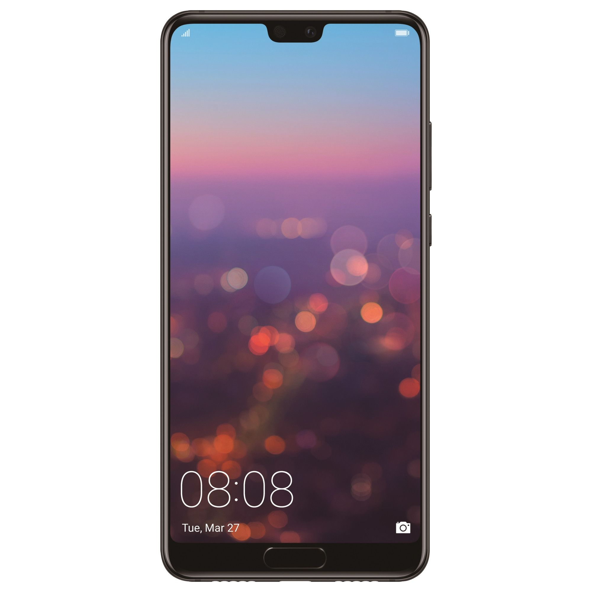 Telefon mobil Huawei P20, Single SIM, 128GB, 4GB RAM, Black