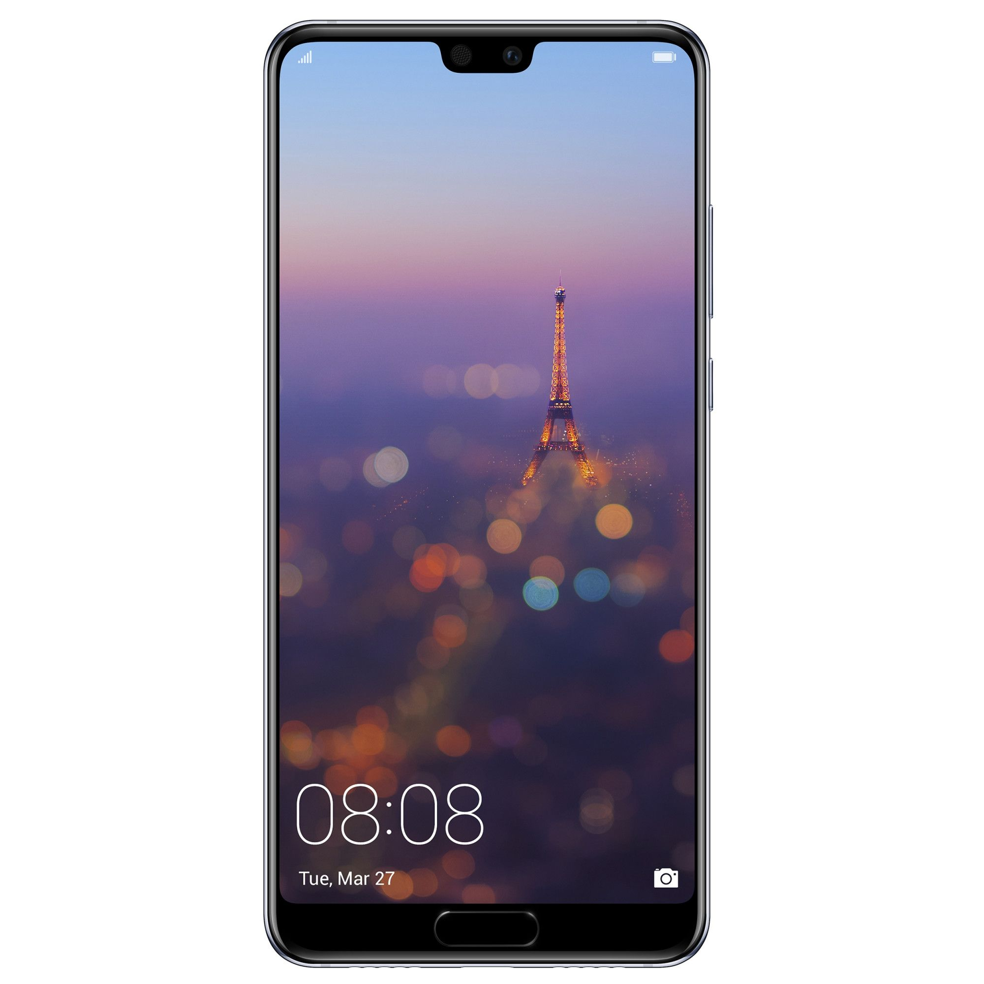 Telefon mobil Huawei P20, Single SIM, 128GB, 4GB RAM, Blue