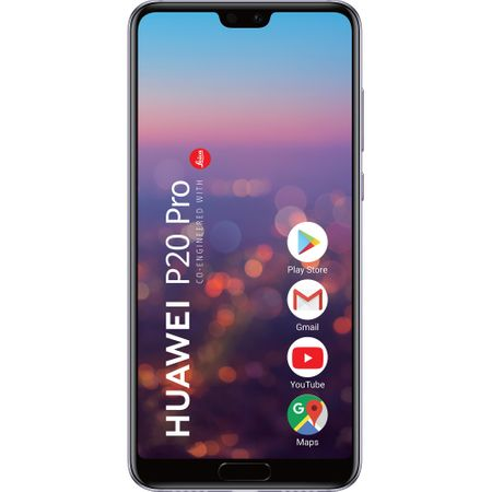 Telefon mobil Huawei P20 Pro, Single SIM, 128GB, 6GB RAM, Twilight