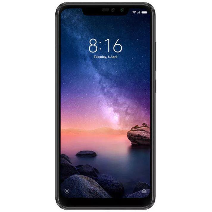 Telefon mobil Xiaomi Redmi Note 6 Pro, Dual SIM, 32GB, 3GB RAM, Black