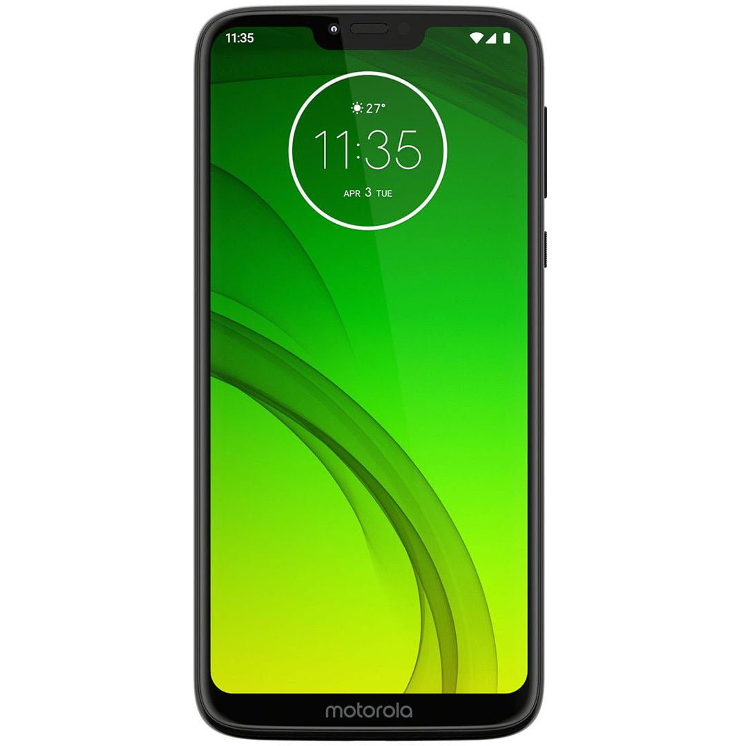 Telefon mobil Motorola Moto G7 Power, Dual Sim, 64GB, Ceramic Black