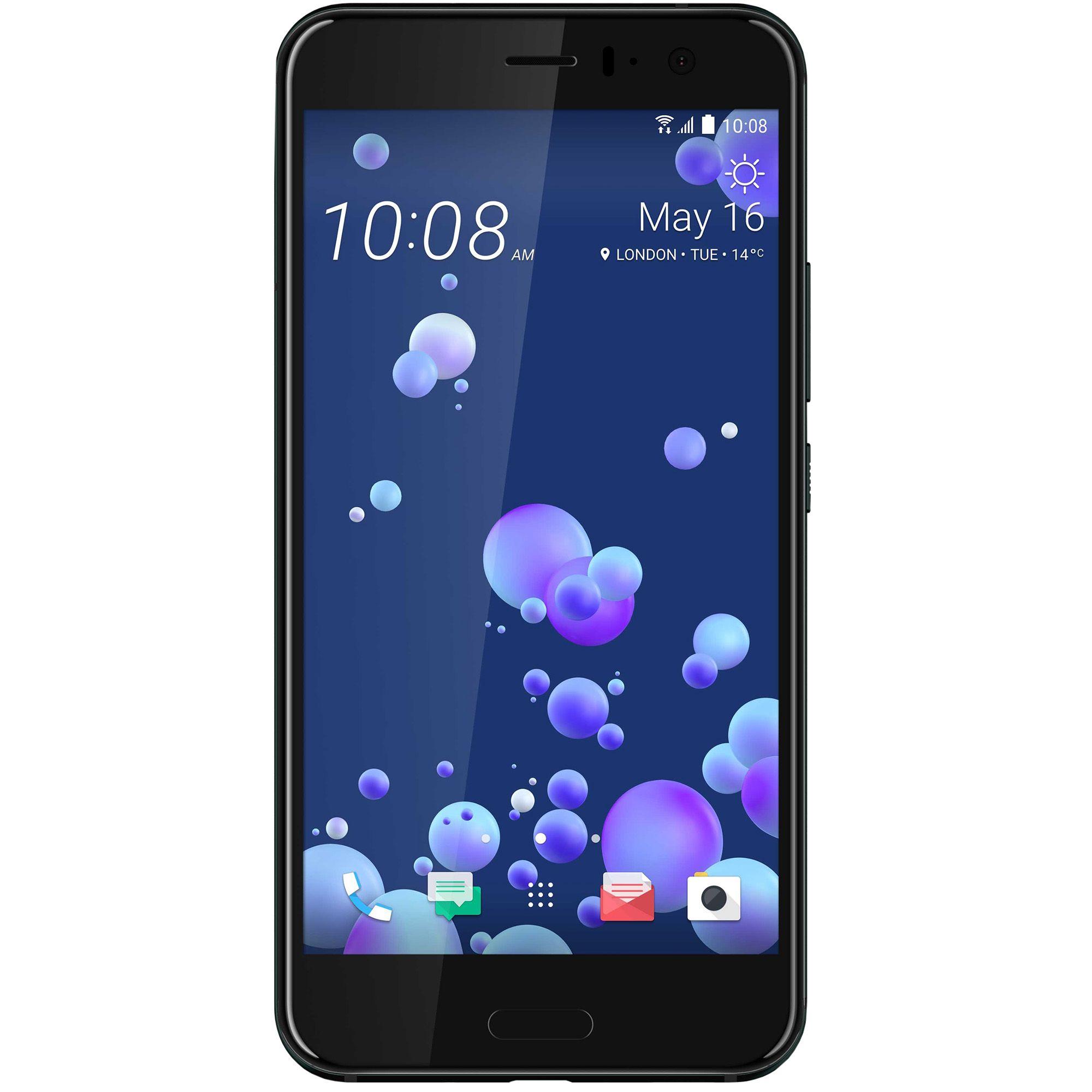 Telefon mobil HTC U11, Dual SIM, 64GB, 4GB RAM, Brilliant Black