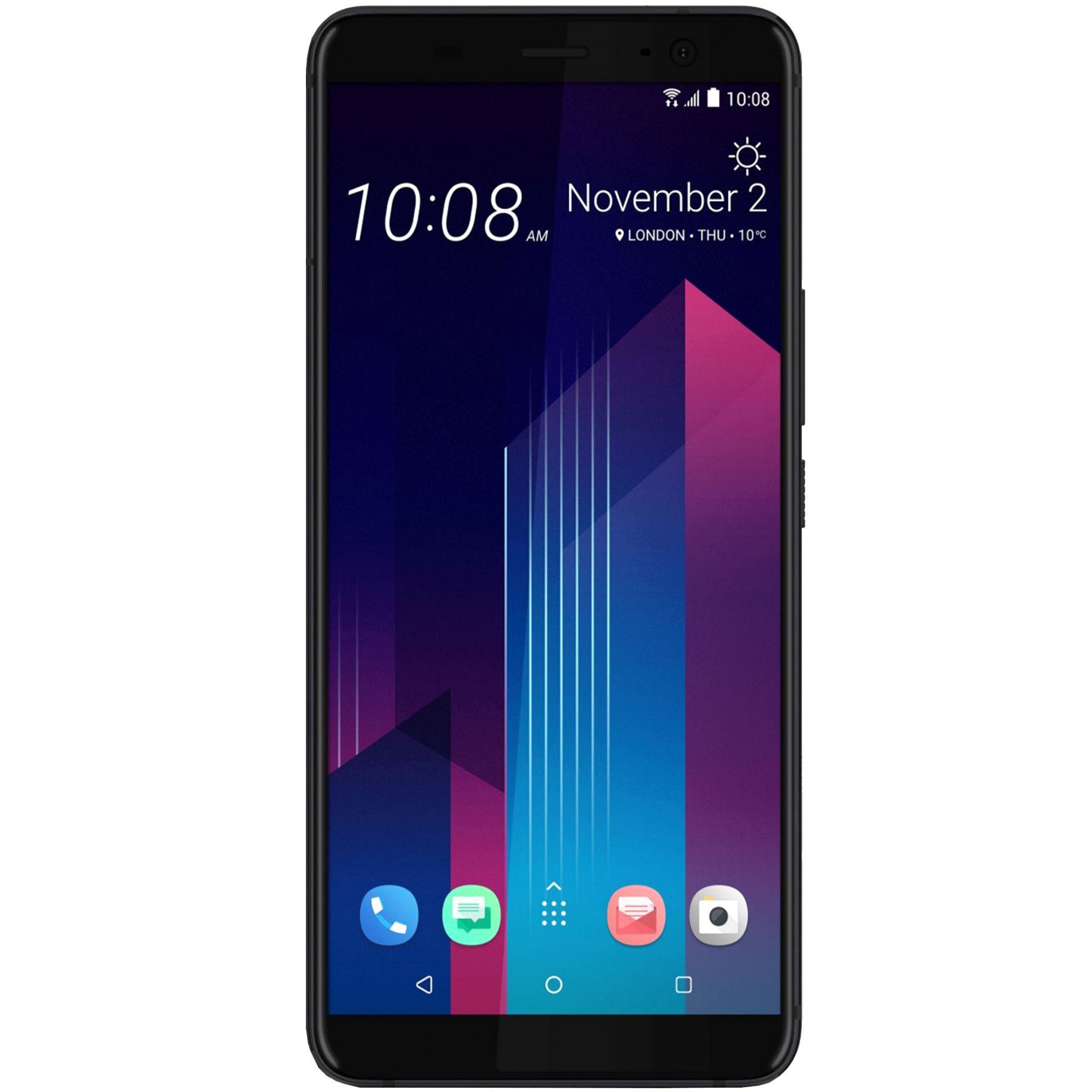 Telefon mobil HTC U11 Plus, Dual SIM, 128GB, 6GB RAM, Ceramic Black