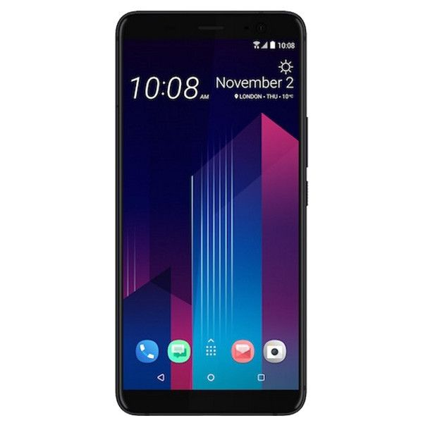 Telefon mobil HTC U11 Plus, Dual SIM, 128GB, 6GB RAM, Translucent Black