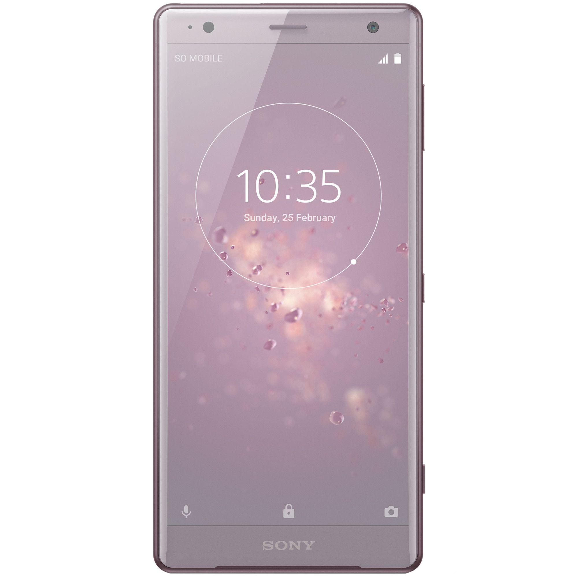 Telefon mobil Sony Xperia XZ2 H8266, Dual SIM, 64GB, 4GB RAM, Ash Pink
