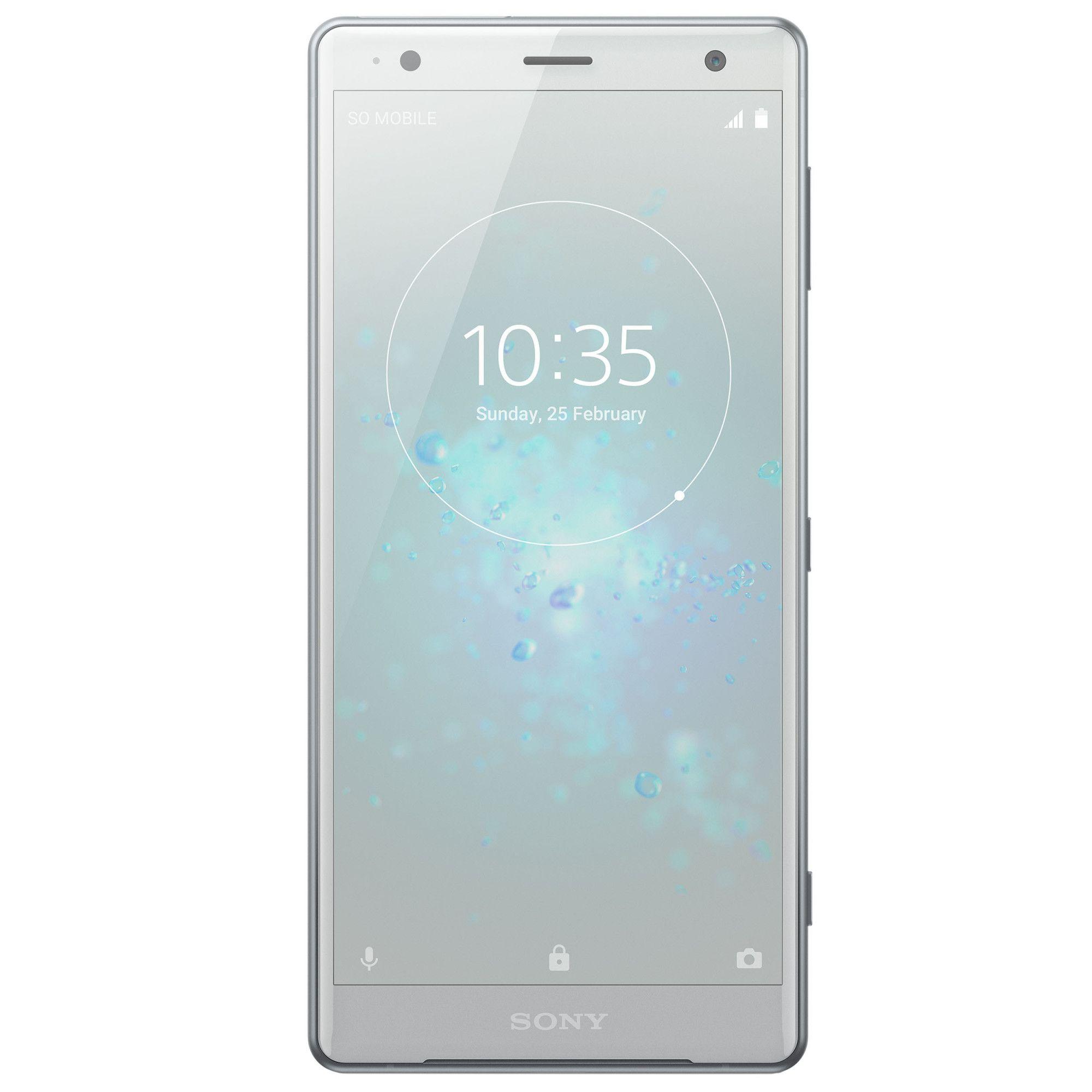 Telefon mobil Sony Xperia XZ2 H8266, Dual SIM, 64GB, 4GB RAM, Liquid Silver