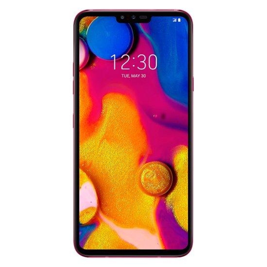 Telefon mobil LG V40 ThinQ, Dual Sim, 128GB, 6GB RAM, 4G, Carmine Red