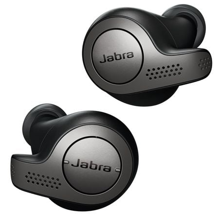 Casti bluetooth Jabra Elite 65t, In-Ear, Titanium Black