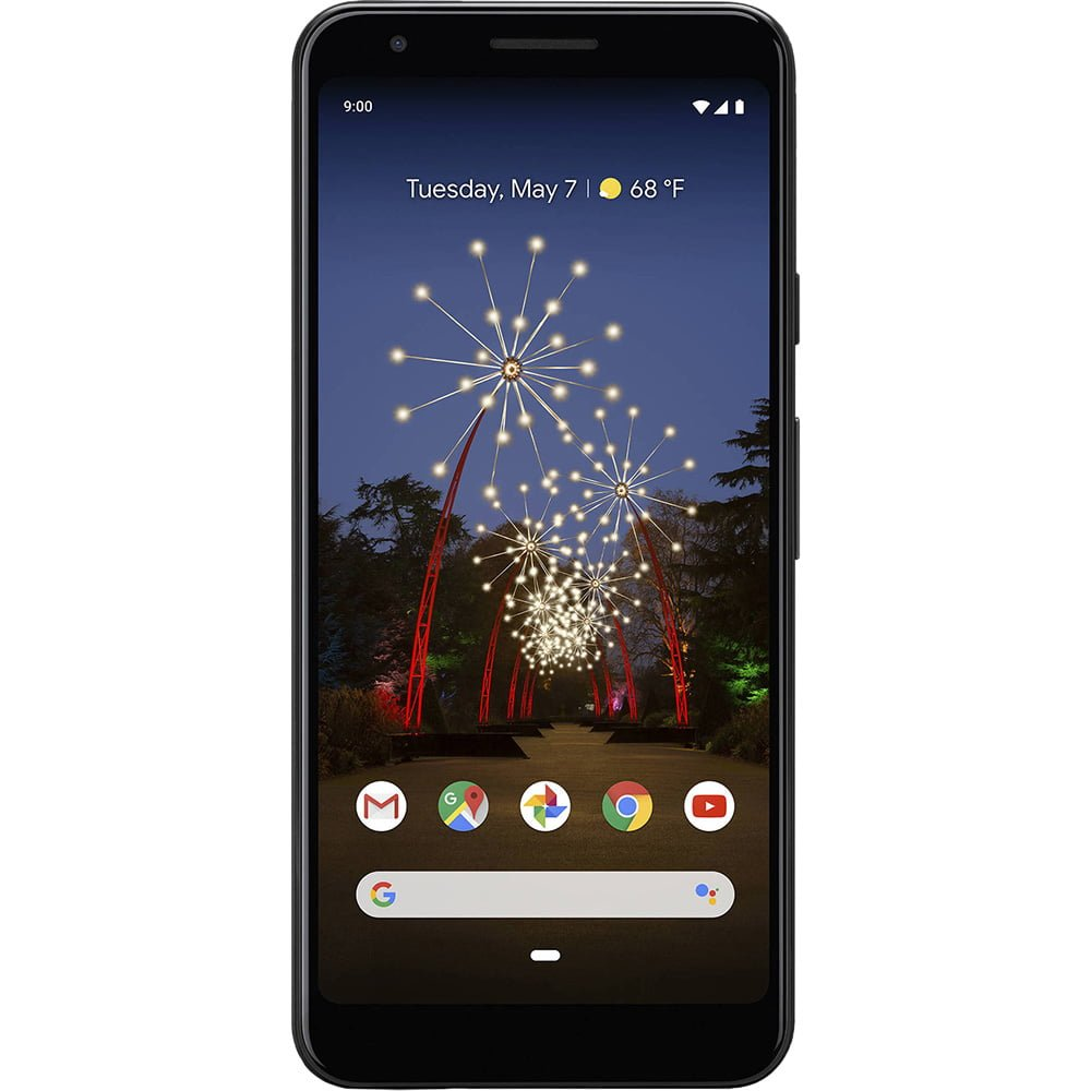 Telefon mobil Google Pixel 3A XL, 64GB, 4GB RAM, Single SIM, Just Black