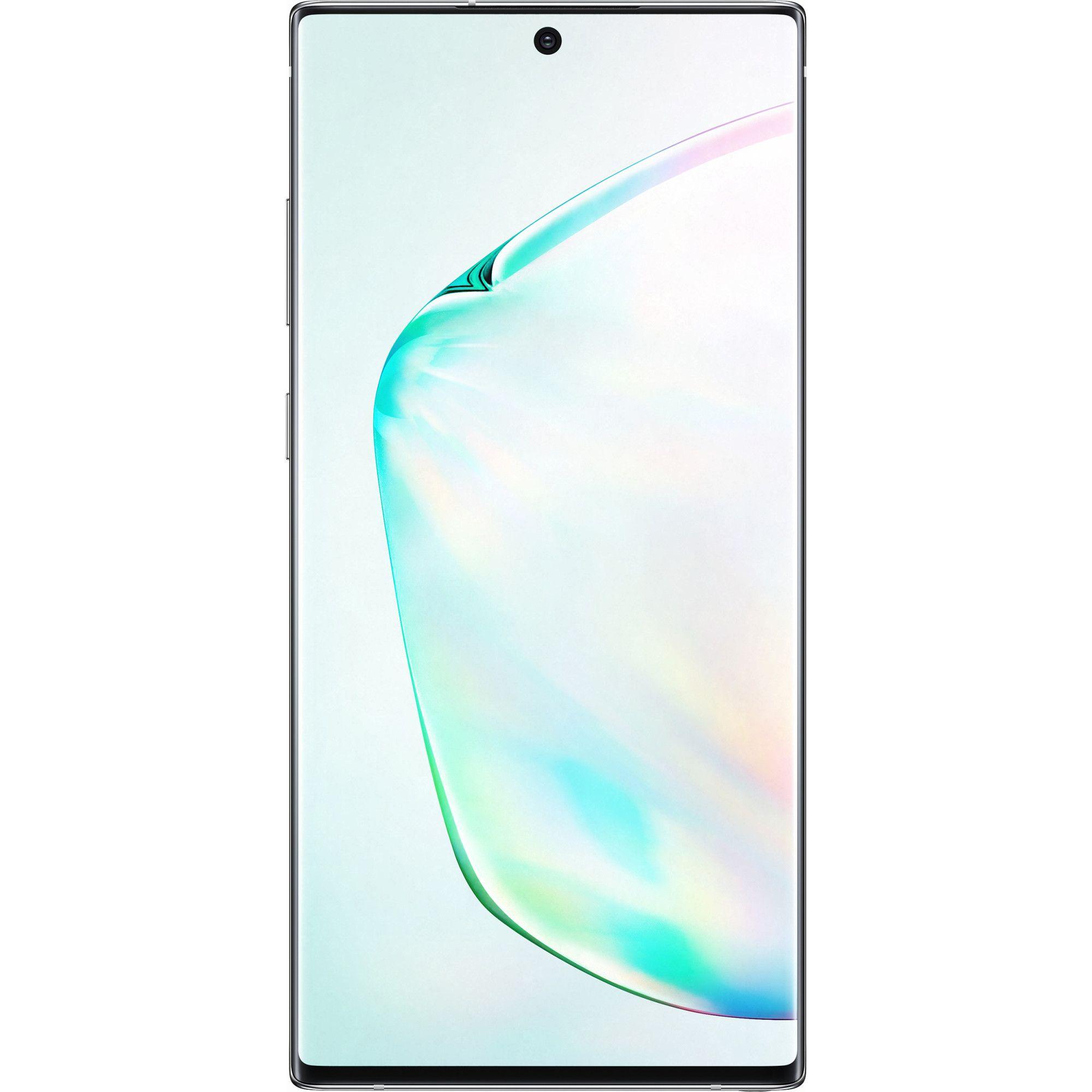 Telefon mobil Samsung Galaxy Note 10 Plus, N975F, Dual SIM, 512GB, 12GB RAM, 4G, Aura Glow