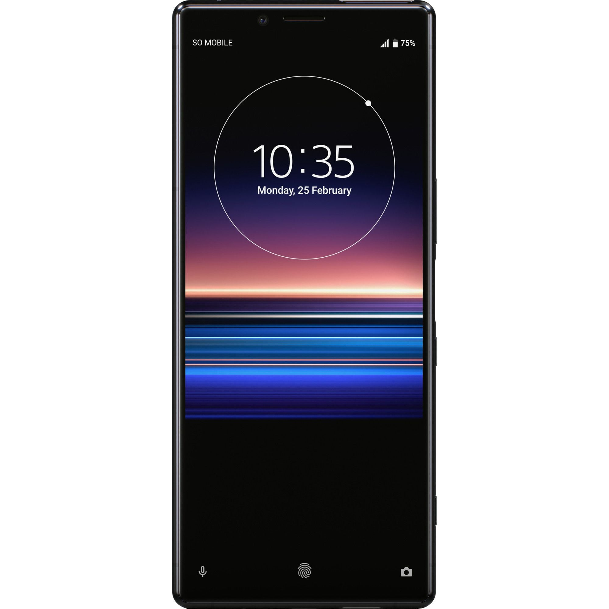 Telefon mobil Sony Xperia 1, Single SIM, 128GB, 6GB RAM, 4G, Black