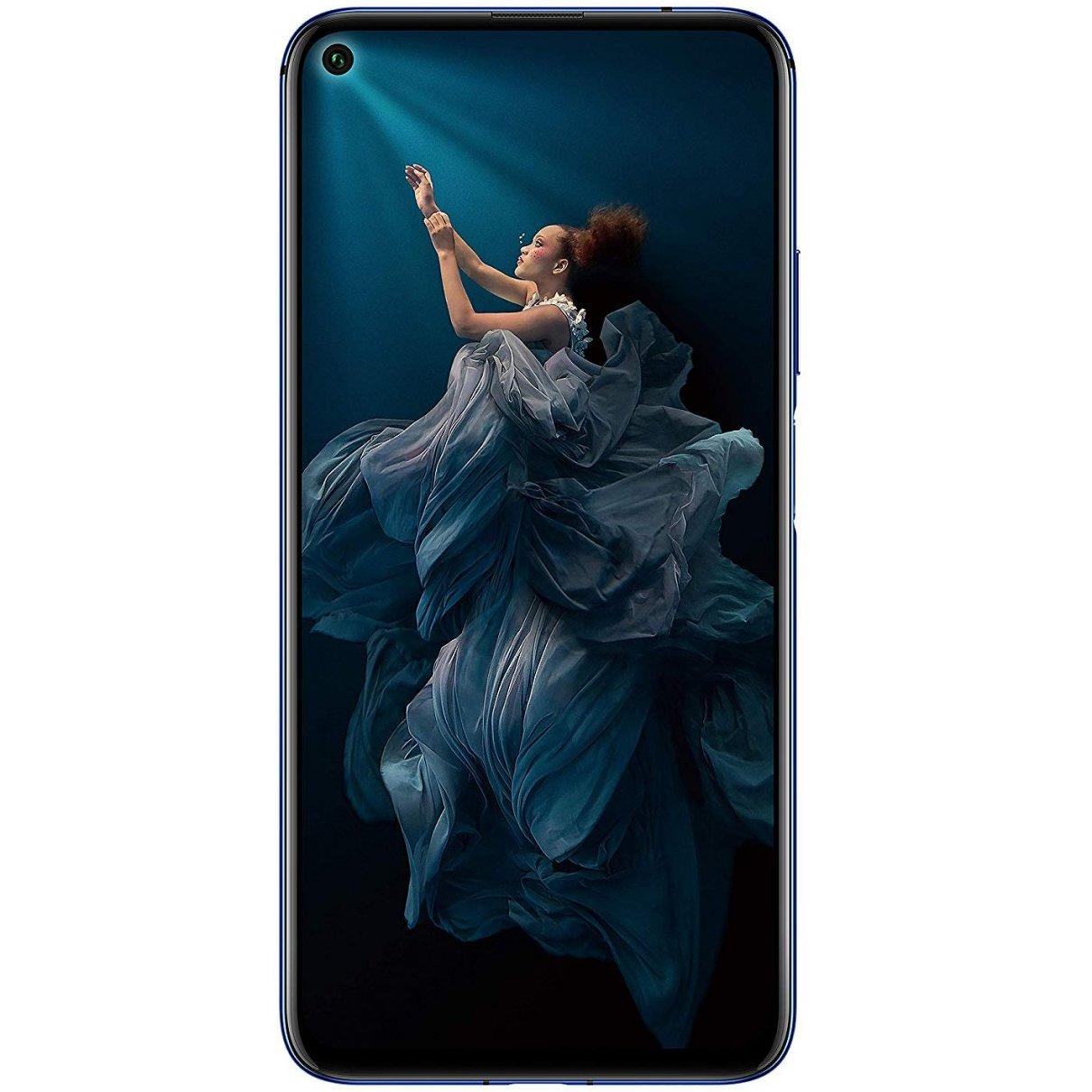 Telefon mobil Huawei Honor 20, Dual SIM, 128GB, 6GB RAM, 4G, Sapphire Blue