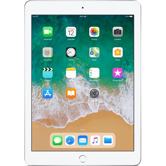 "Tableta Apple iPad (2018), 9.7"", 32GB, 2GB RAM, Wi-Fi + Cellular, Silver"