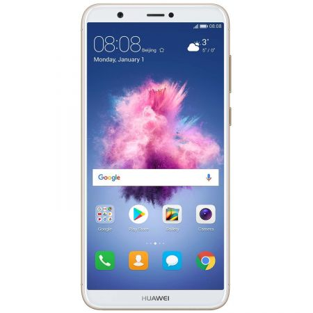 Telefon mobil Huawei P Smart, Single SIM, 32GB, 3GB RAM, 4G, Gold