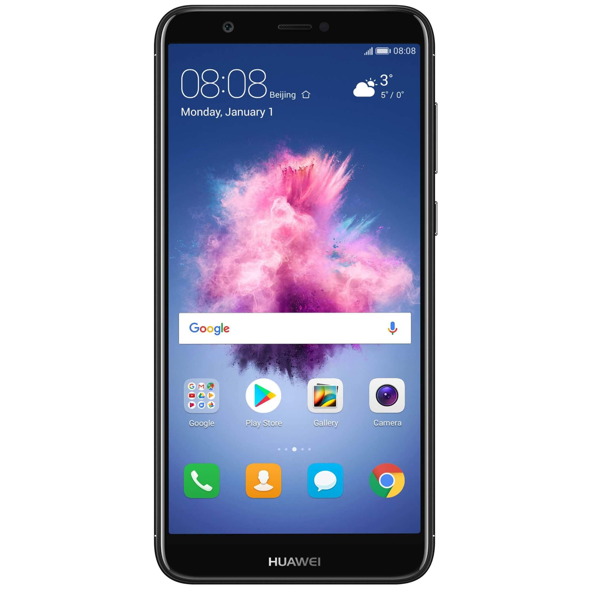 Telefon mobil Huawei P Smart, Single SIM, 32GB, 3GB RAM, 4G, Black