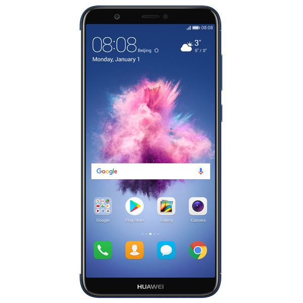 Telefon mobil Huawei P Smart, Single SIM, 32GB, 3GB RAM, 4G, Blue