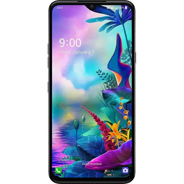 Telefon mobil LG G8X ThinQ, Dual SIM, 128GB, 6GB RAM, 4G, New Aurora Black