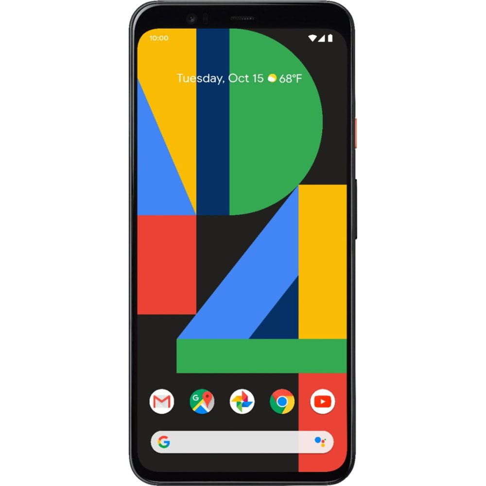 Telefon mobil Google Pixel 4 XL, 128GB, 6GB RAM, 4G, Clearly White