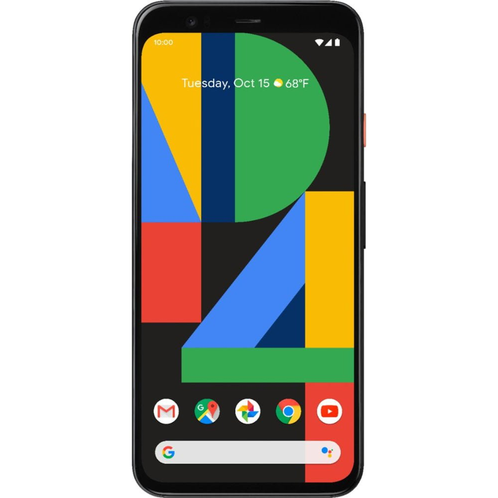 Telefon mobil Google Pixel 4, 128GB, 6GB RAM, 4G, Clearly White
