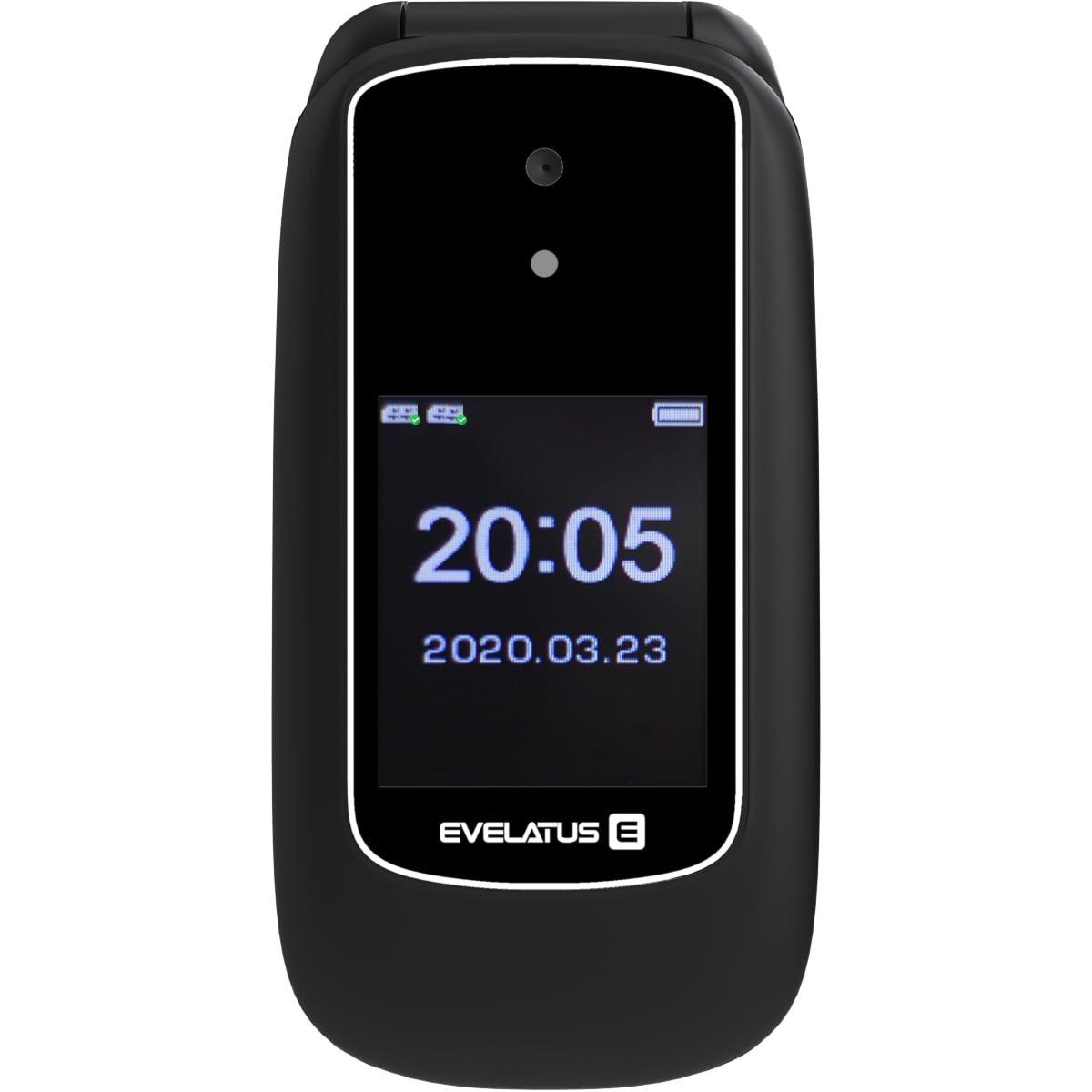 Telefon mobil Evelatus Wave 2020, Dual SIM, Black