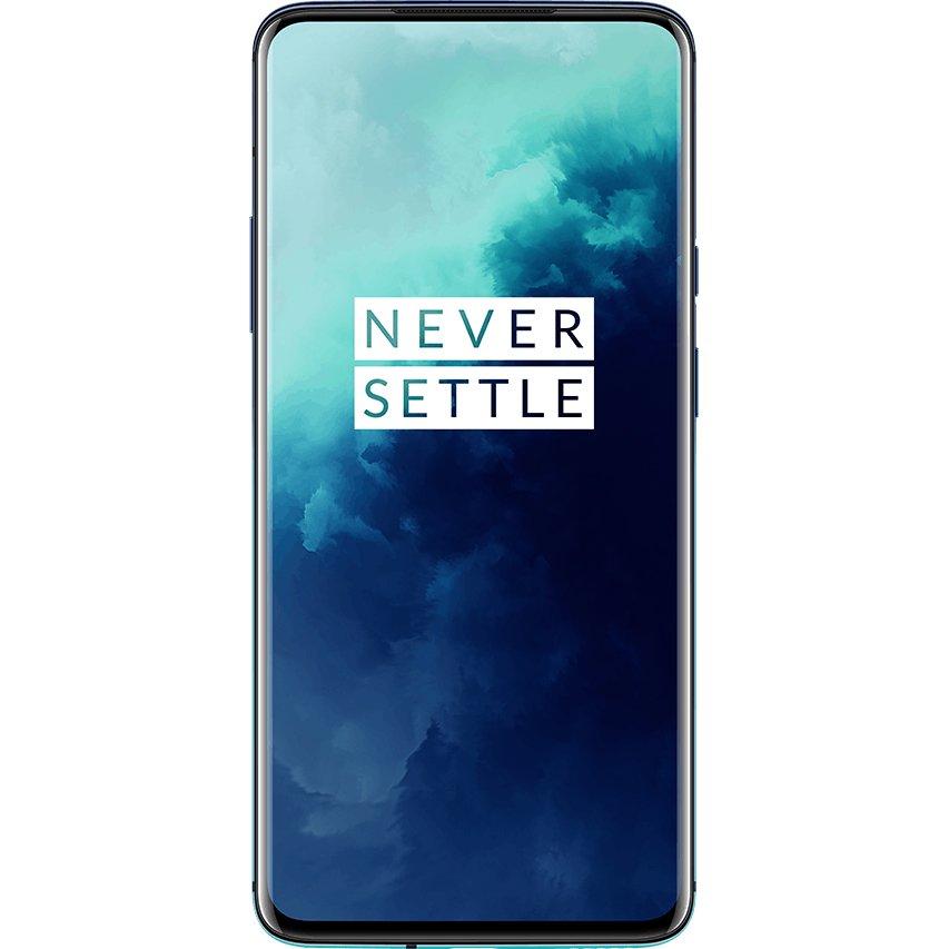 Telefon mobil OnePlus 7T Pro, Dual SIM, 256GB, 8GB RAM, 4G, Haze Blue