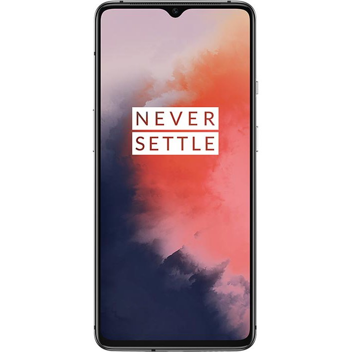 Telefon mobil OnePlus 7T, Dual Sim, 256GB, 8GB RAM, Frosted Silver