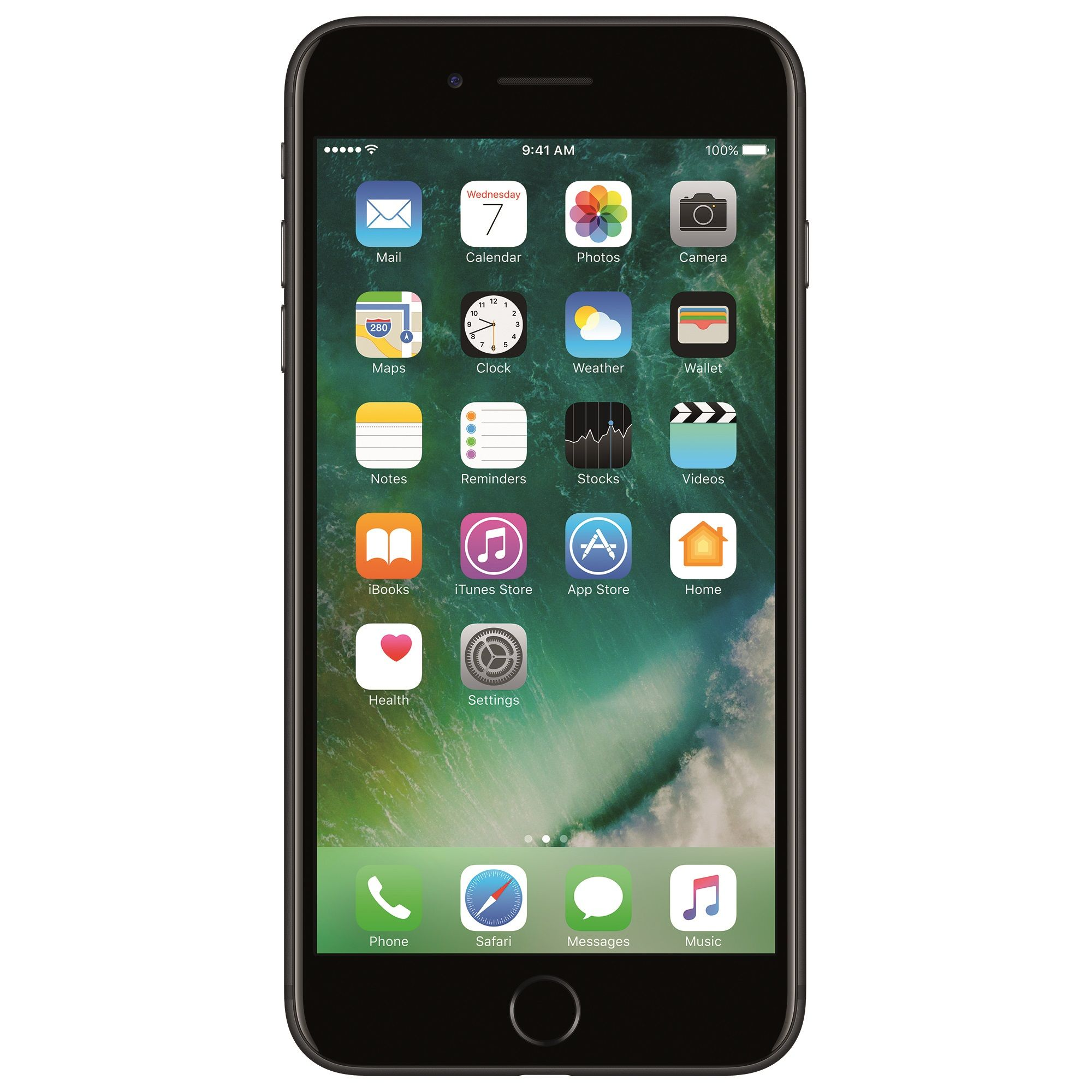 Telefon mobil Apple iPhone 7 Plus, 128GB, 3GB RAM, 4G, Black