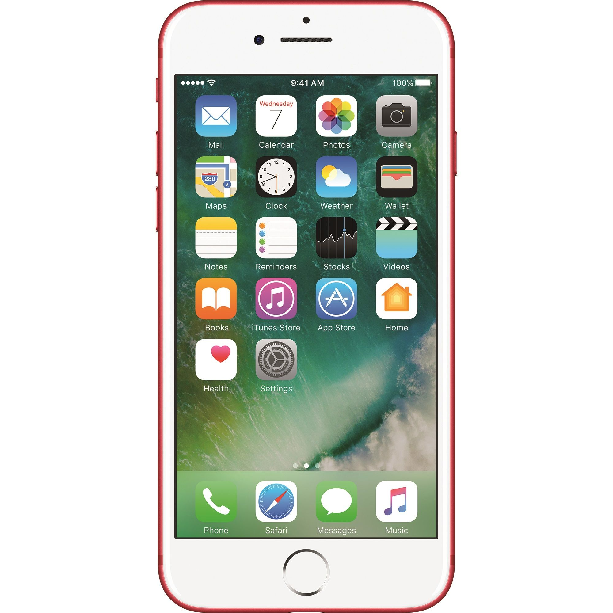 Telefon mobil Apple iPhone 7, 256GB, 2GB RAM, 4G, Red
