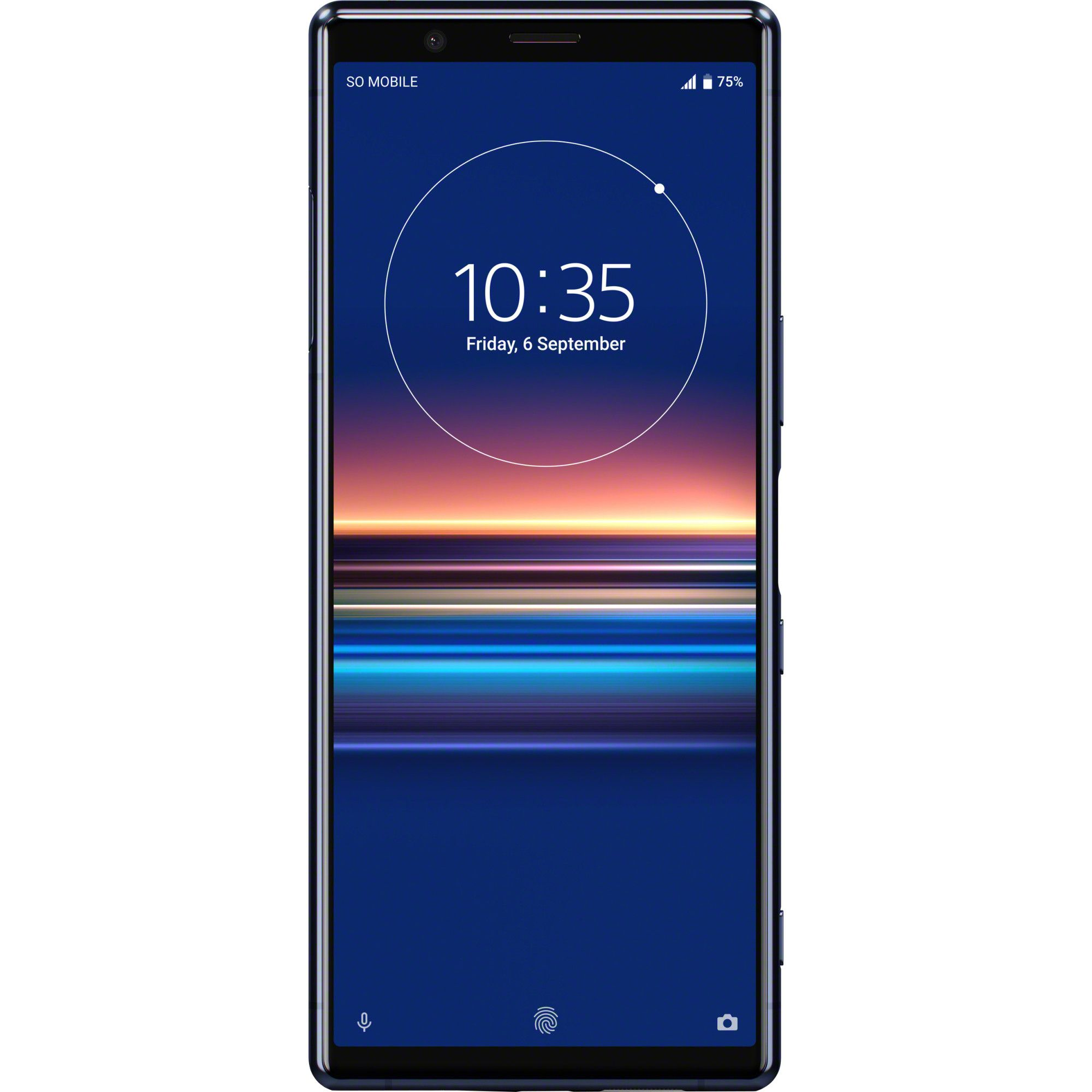 Telefon mobil Sony Xperia 5, Single SIM, 128GB, 6GB RAM, 4G, Blue