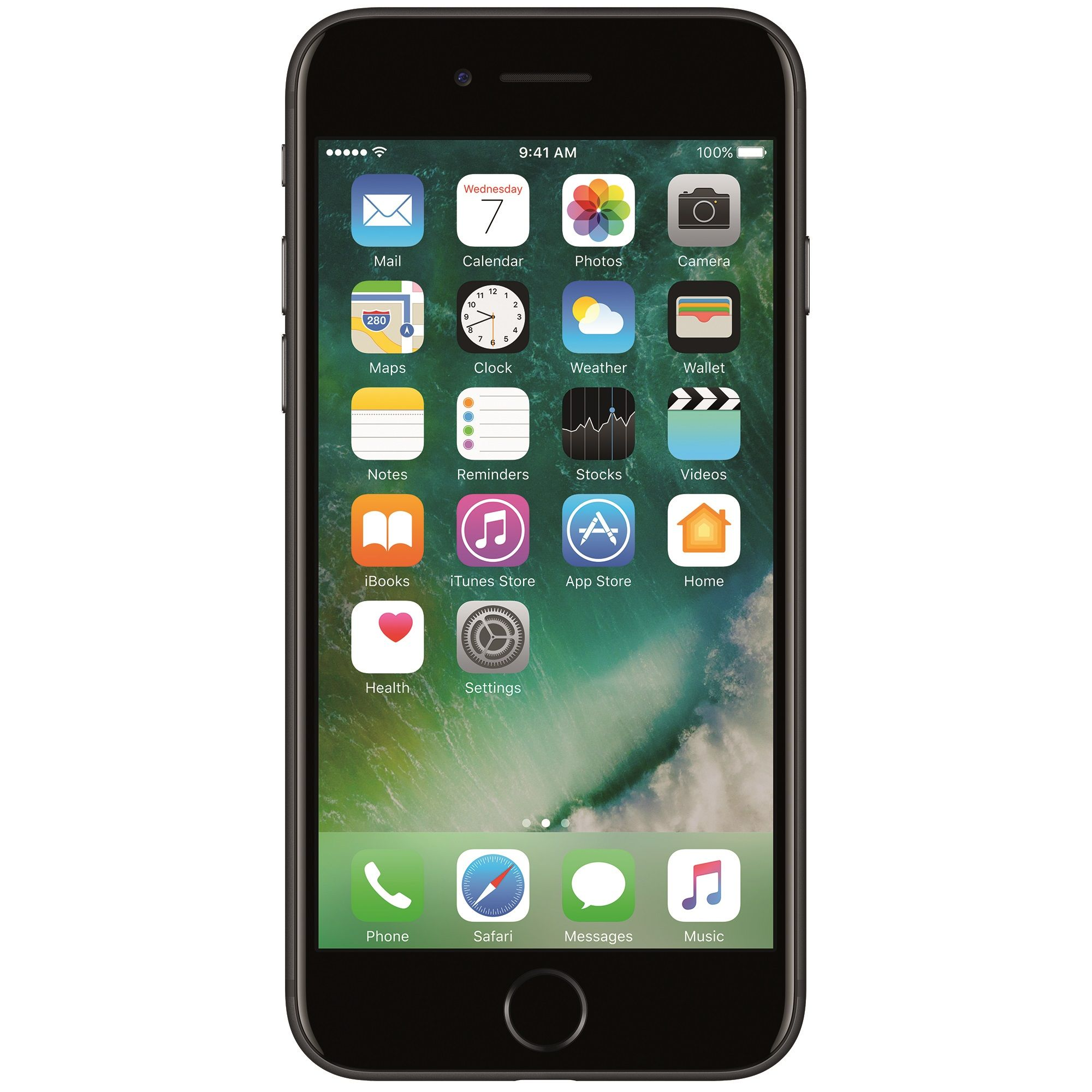 Telefon mobil Apple iPhone 7, 256GB, 2GB RAM, 4G, Black