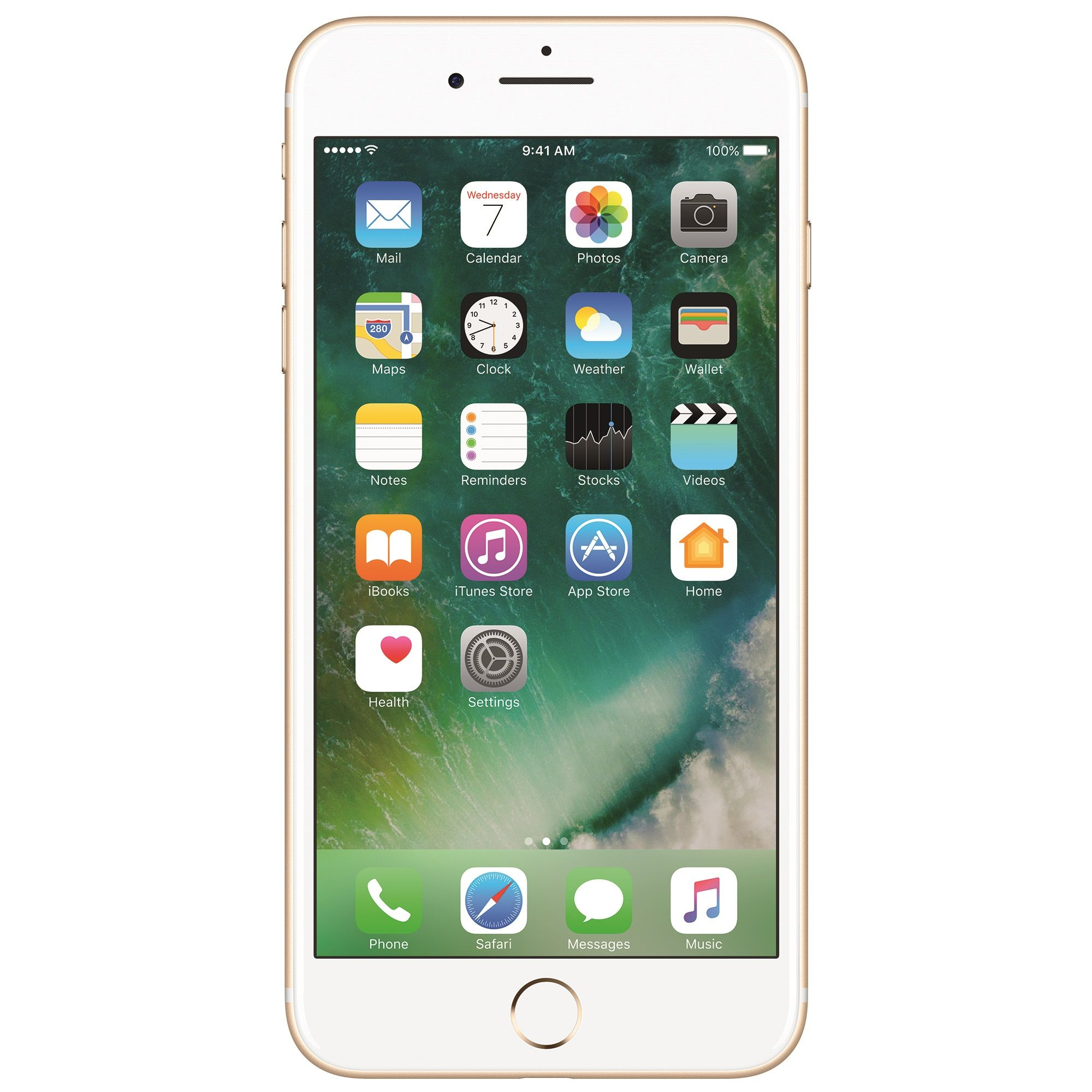 Telefon mobil Apple iPhone 7 Plus, 256GB, 3GB RAM, 4G, Gold