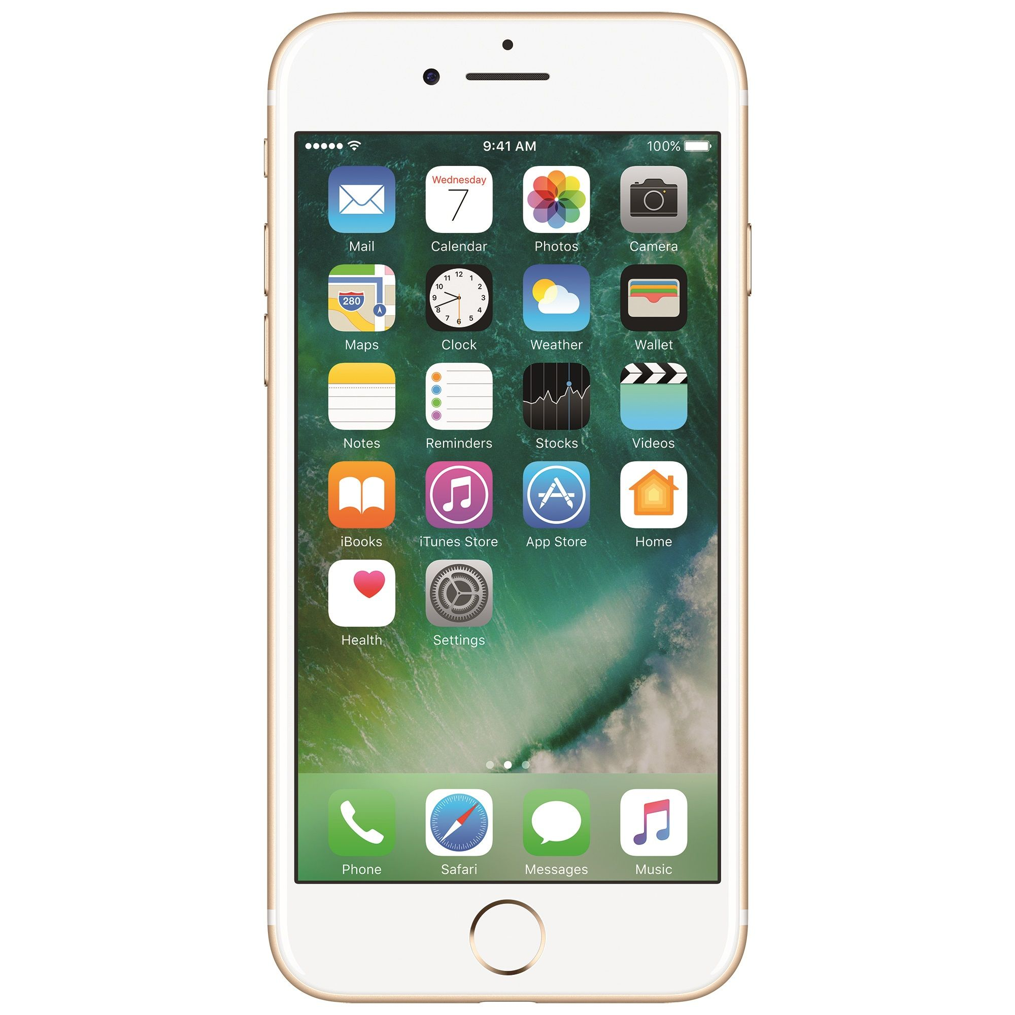 Telefon mobil Apple iPhone 7, 256GB, 2GB RAM, 4G, Gold